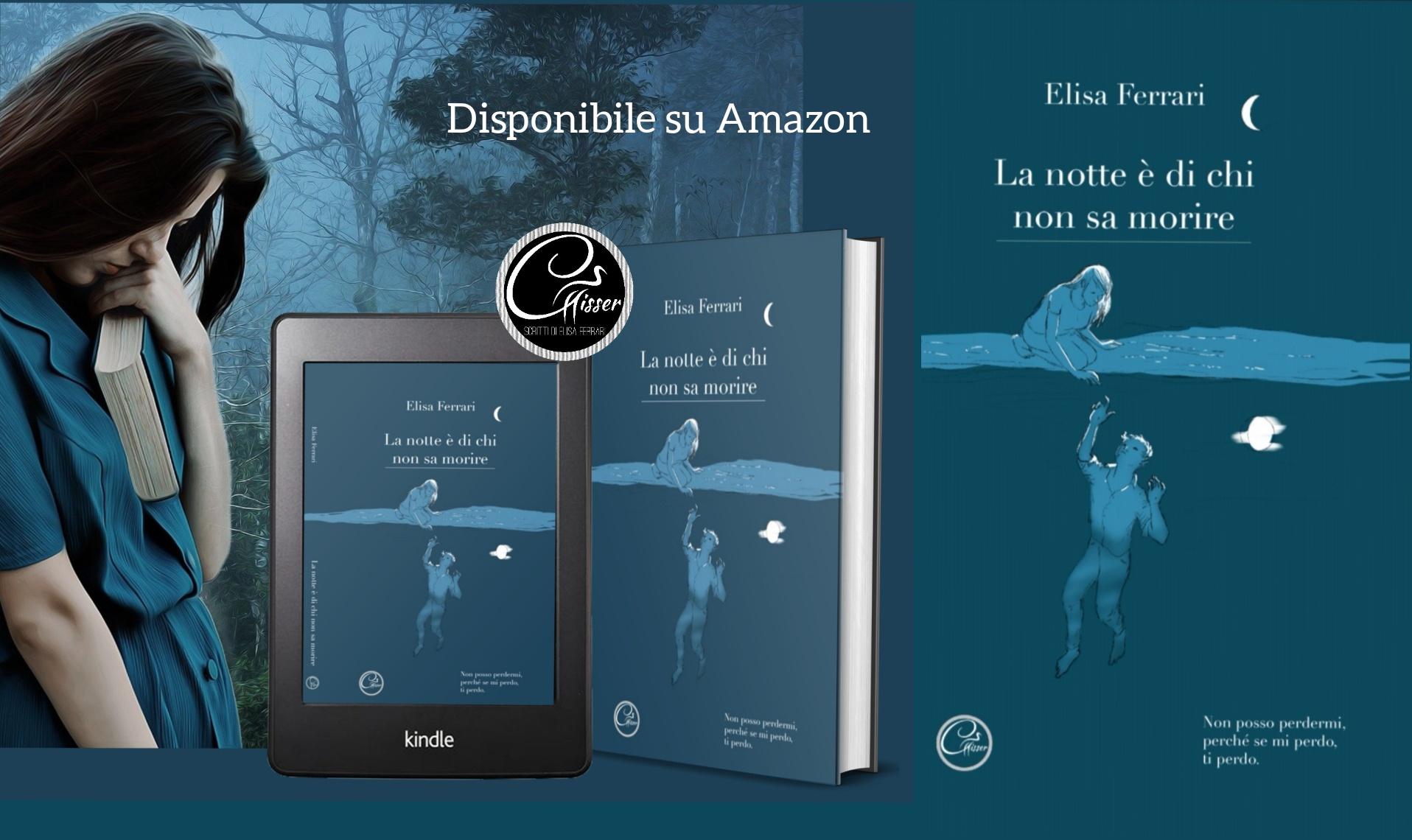 """""""LA NOTTE È DI CHI NON SA MORIRE"""": un libro per la Sindrome di Ondine."""